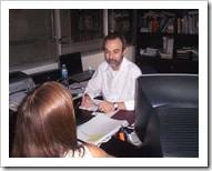 Reunión en el Ministerio de Salud de la Nación – febrero 2009