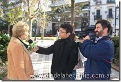 Fotos en Rosario por el Día Mundial de la Hepatitis 2009