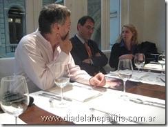 Fotos en la Ciudad Autónoma de Buenos Aires por el Día Mundial de la Hepatitis 2009