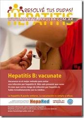 """Afiches campaña """"Hepatitis – Si tenés dudas, hacete la prueba"""", mayo 2010"""