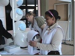Fotos de actividades en Ushuaia por el Día Mundial de la Hepatitis 2010