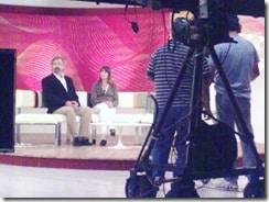 Fotos Hepatitis y Día Mundial en la TV