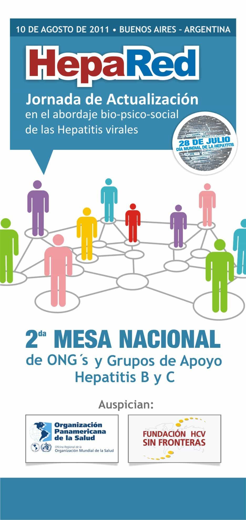 Consenso de ONG´s de pacientes sobre situación de las Hepatitis Virales en Argentina