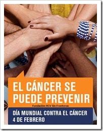 """4 de febrero Día Mundial del Cáncer """"Juntos es posible"""" """"El cáncer primario de hígado puede prevenirse"""""""
