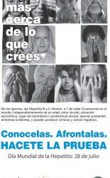 """Campaña en La Plata «No ignoremos las Hepatitis B y C"""""""
