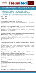 Rosario frente a las Hepatitis Virales