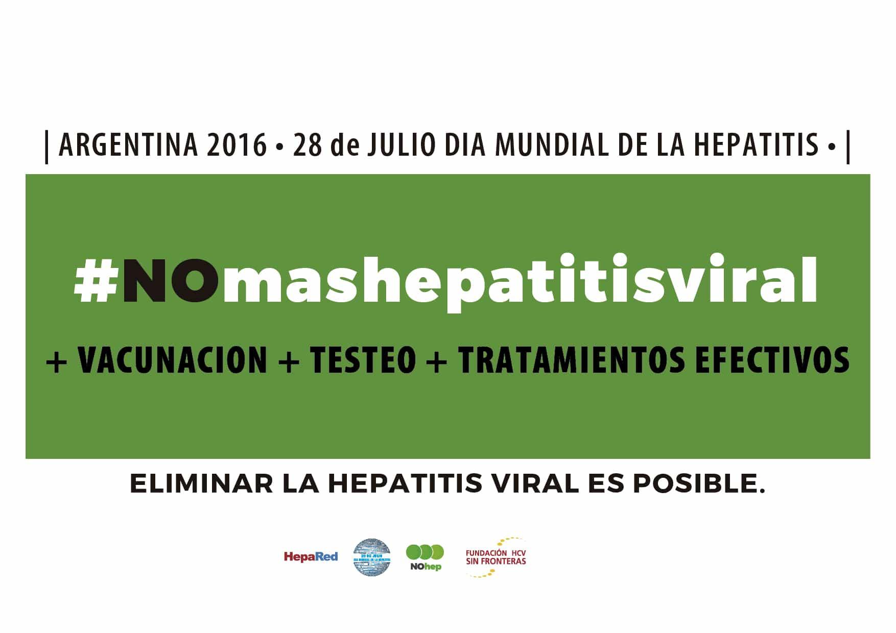 HCV Sin Fronteras en acción – DMH 2016 – Materiales, redes sociales, afiches hospitales y más