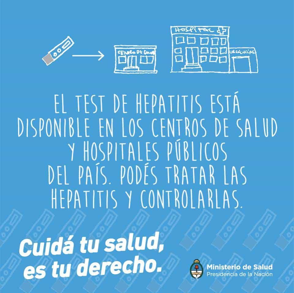 Campaña  Programa Nacional de Hepatitis 2016