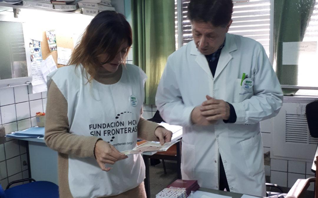 Encuentro de médicos hepatólogos y la Comunidad