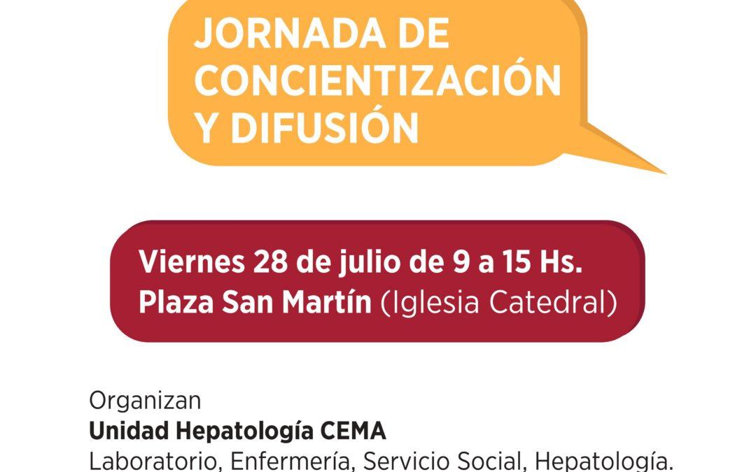 Más actividades para prevenir la hepatitis en Mar del Plata