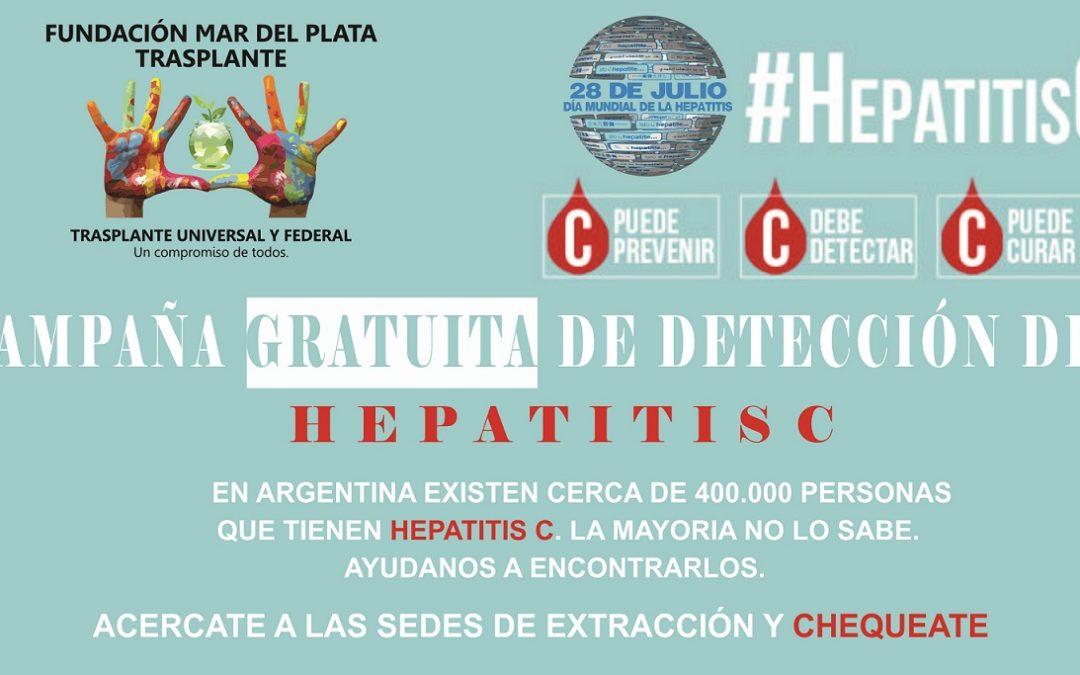 Mar del Plata se une a la campaña por el Día Mundial de la Hepatitis