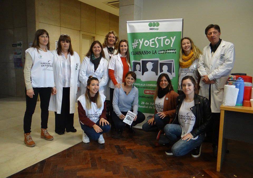 Fundación HCV Sin Fronteras, Hospital Posadas y la comunidad.
