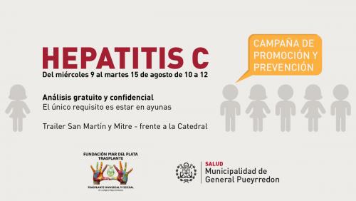 Arranca la campaña de prevención de Hepatitis C ( Mar del Plata)