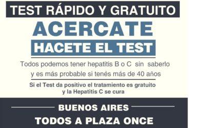 Vacunación, test hepatitis e información en CABA