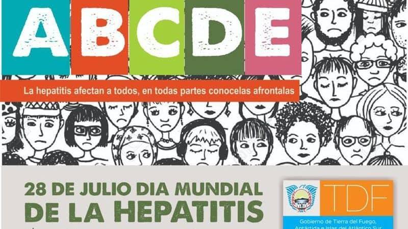 USHUAIA, Realizarán campaña de detección y vacunación contra la hepatitis.
